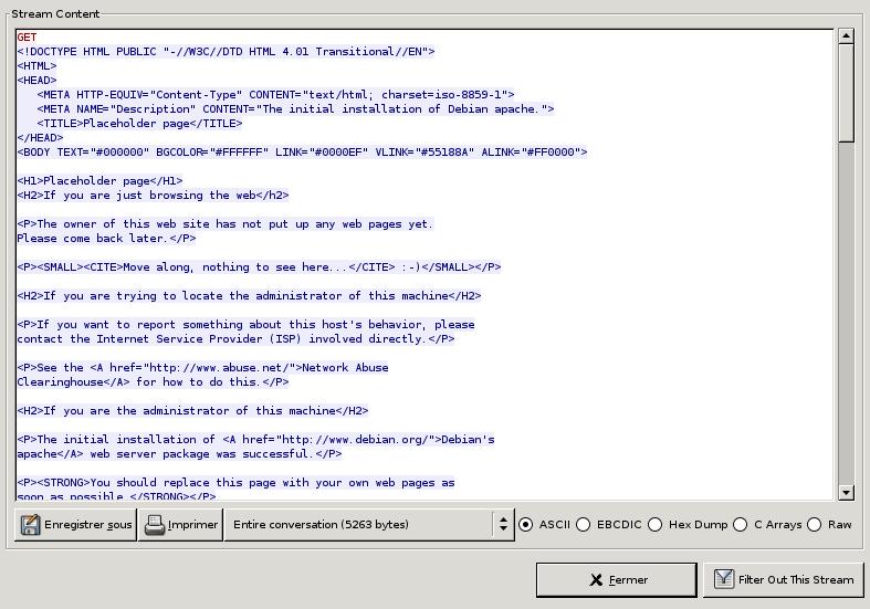 TCPDUMP PORT 22 LINUX - Analyse réseau - Linux Attitude