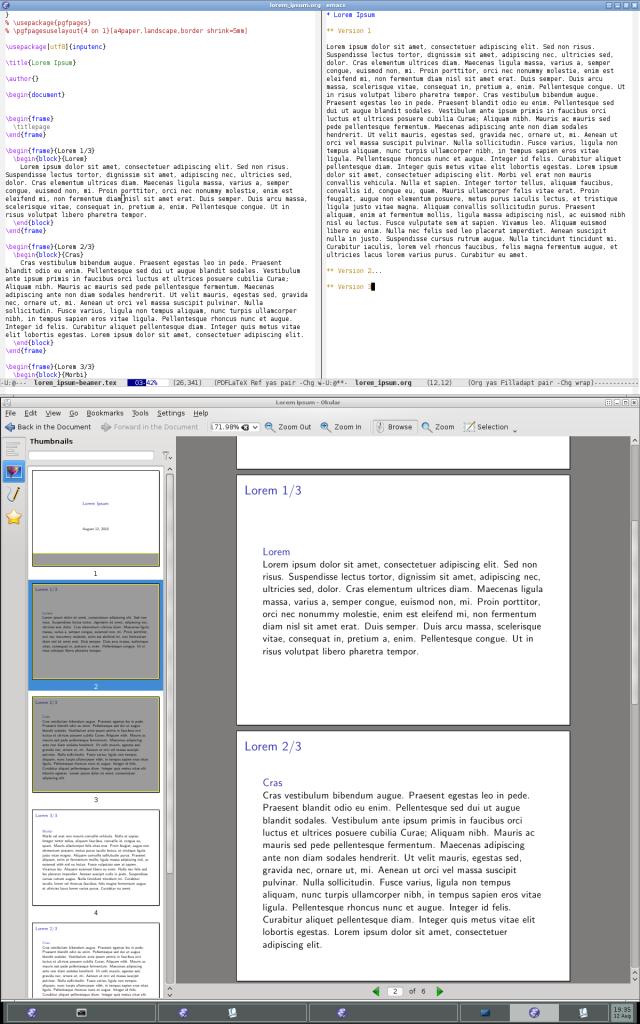 emacs+pokular