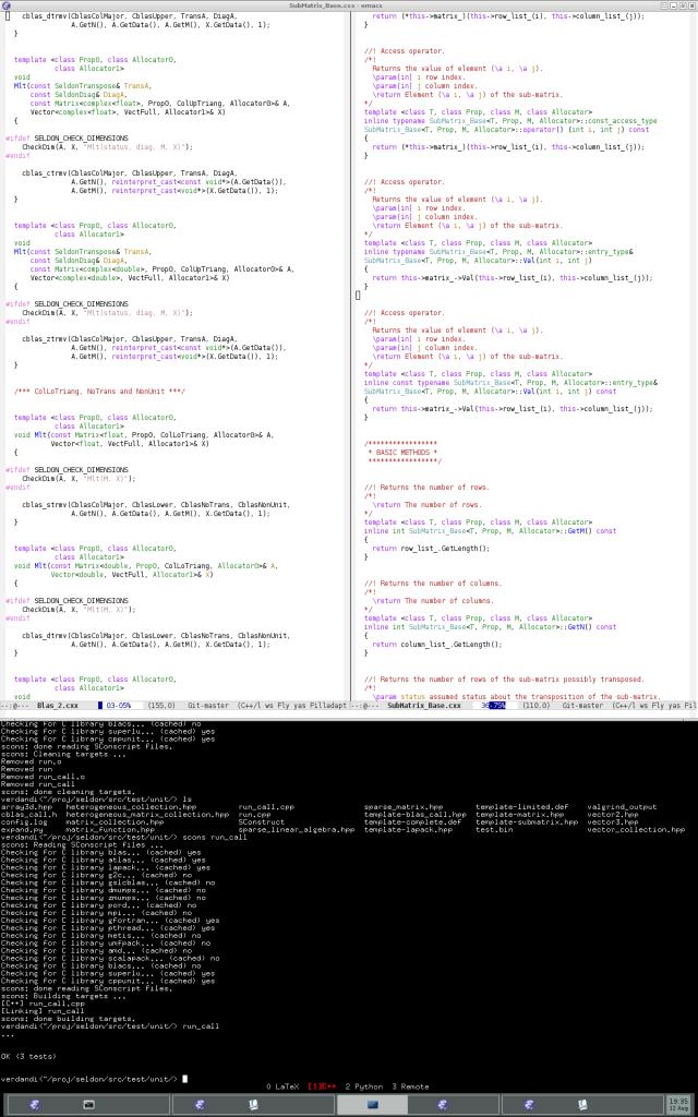 emacs+terminal